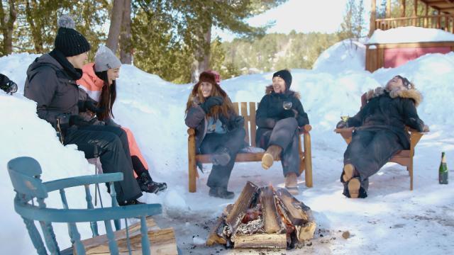 Épisode 9 - Le chalet d'hiver